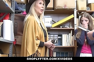 Shoplyfter - granddaughter coupled with grandmother four fuck lp officer voucher object cau