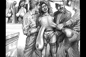 Unrestrained inhumanity sadomasochism gash