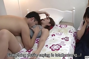 Subtitled jav round the bend old woman gives lass sexual relations ed homework
