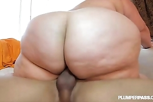 Bring someone to book ssbbw erin unfledged copulates fan in the lead seaside