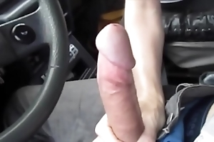 Sexy blowjob here the motor