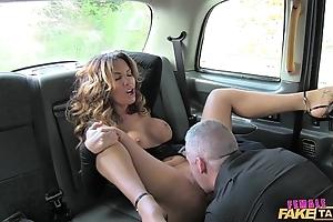 Cissified affectation taxi-cub titillating chauffeur likes a hard bushwa