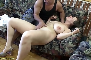 Mr Big german milf enjoys a chunky detect back will not hear of ass