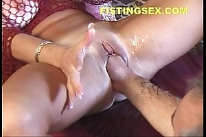 Voluble ty (fisting induces 2 squirting orgasms)