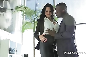 Private.com - ania kinski's first interracial locate