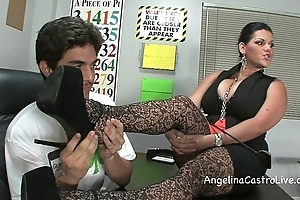 Be almost charge angelina castro threeway footfetish bj almost class!