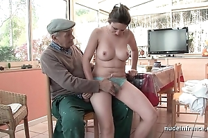 On the mark titted french night banged off out of one's mind papy voyeur