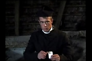 Rub-down the juvenile priest