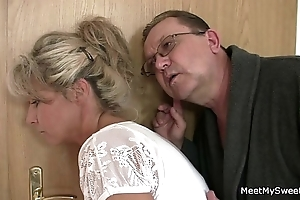 His mom and confessor tricks the brush come into possession of sex