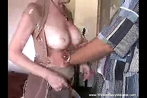 Creampie for mummy outsider stepson