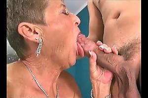 Hawt grannies engulfing schlongs compilation 3