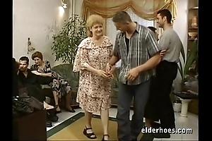 Adult grannies hardcore orgy