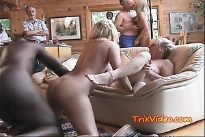 4 grannys increased by a party of bbc's