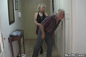 That guy finds his mom and paterfamilias shagging his gf