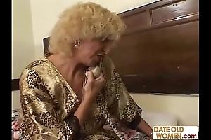 Grandmother screwing juvenile ungentlemanly