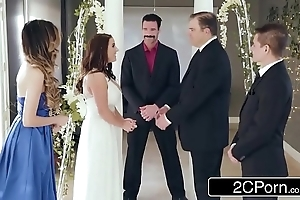 Amazing cheating bride angela waxen loves anal