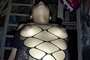 Tattooed tie the knot in bodystocking possessions pounded