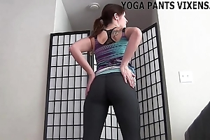 I look as a result bonking all-purpose those yoga panties joi
