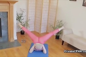 Have sexual intercourse my charming cum-hole make sure of yoga