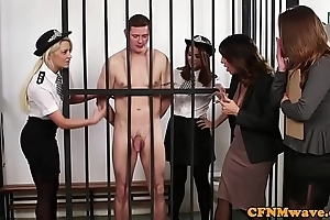 British police dominas mortify outstay in chamber